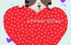 We Love To Illustrate: Free Printable Valentine's Day Cards For Kids! - Free Printable Cat Valentine Cards