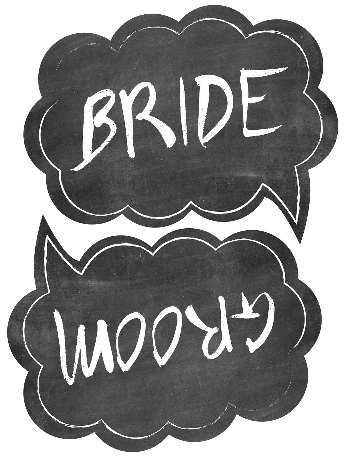 Wedding Photo Booth Props Free Printable Templates | Wedding Photo - Free Printable Photo Booth Props Template