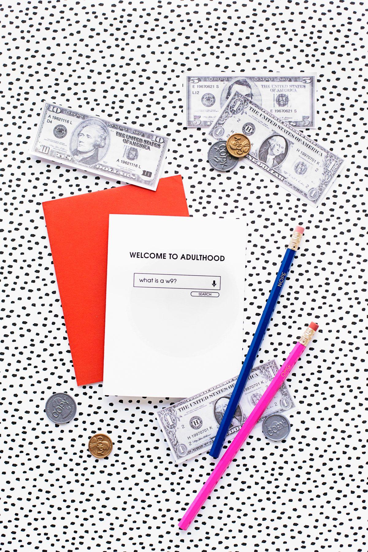 Welcome To Adulthood: Free Printable Graduation Cards | Graduation - Free Printable Graduation Cards