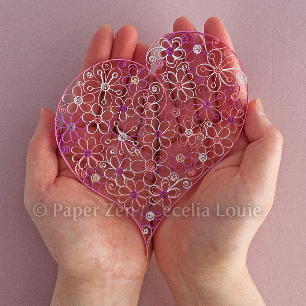 Welcome To Paper Zen ~ Cecelia Louie: Quilling Flower Pattern Update - Free Printable Quilling Patterns