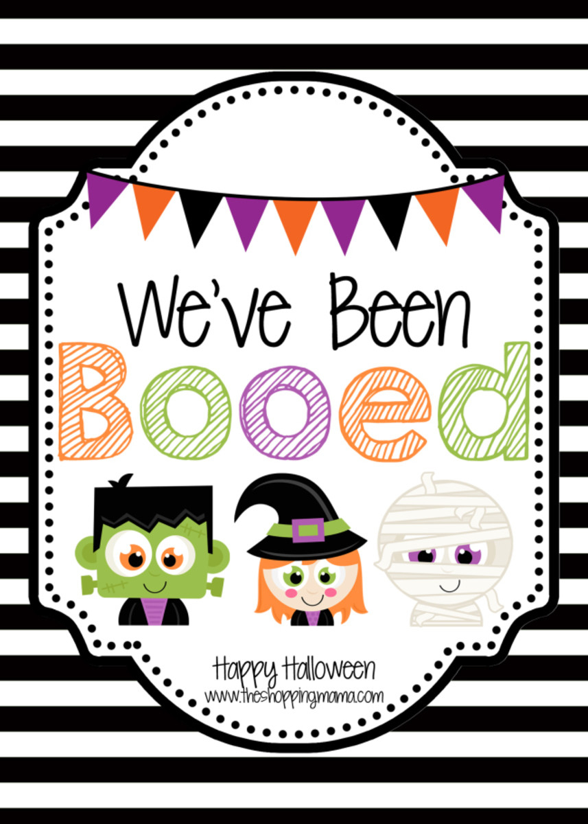 We've Been Booed! - Momtrends - We Ve Been Booed Free Printable
