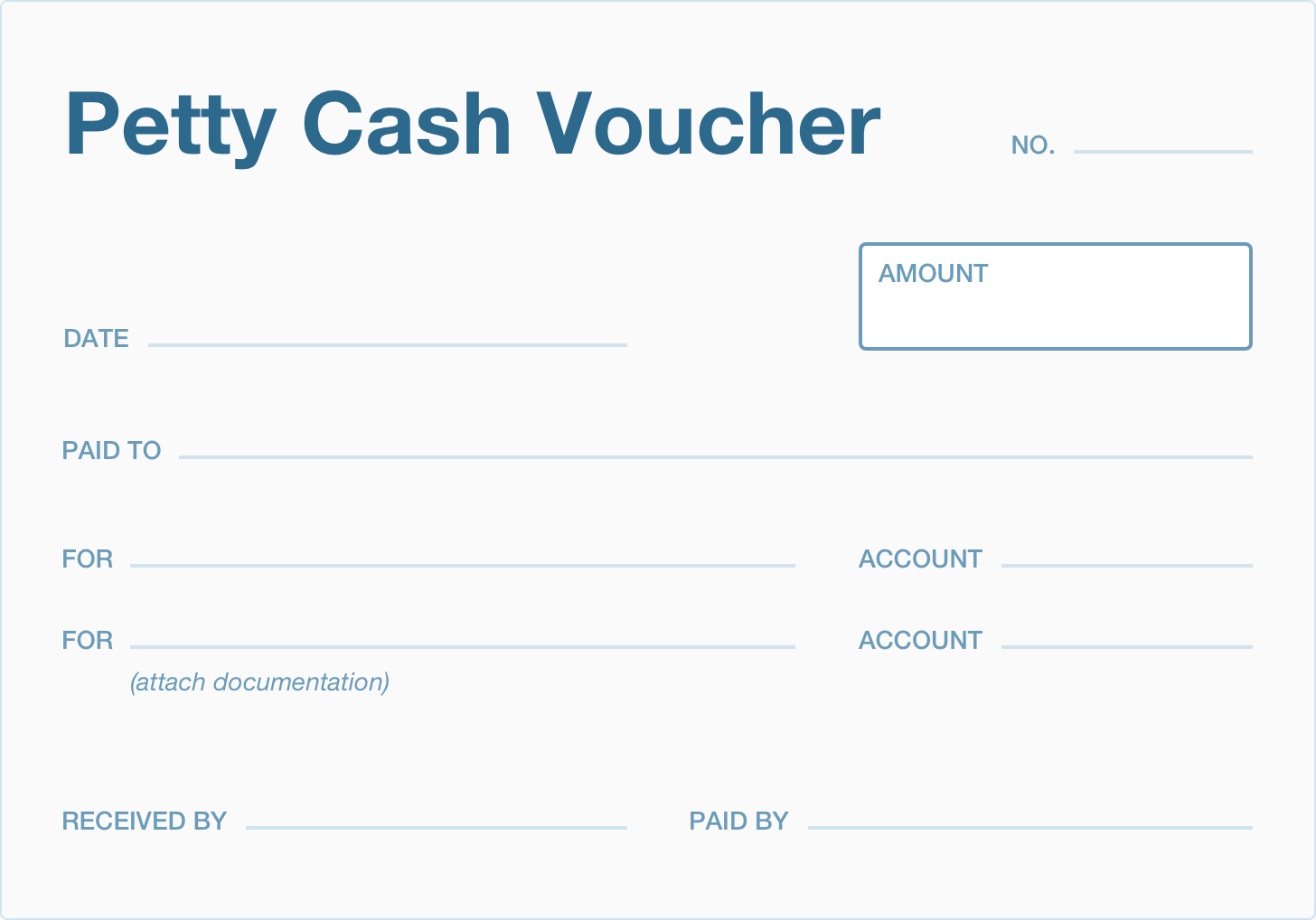 What Is A Petty Cash Voucher? | Accountingcoach - Free Printable Petty Cash Voucher