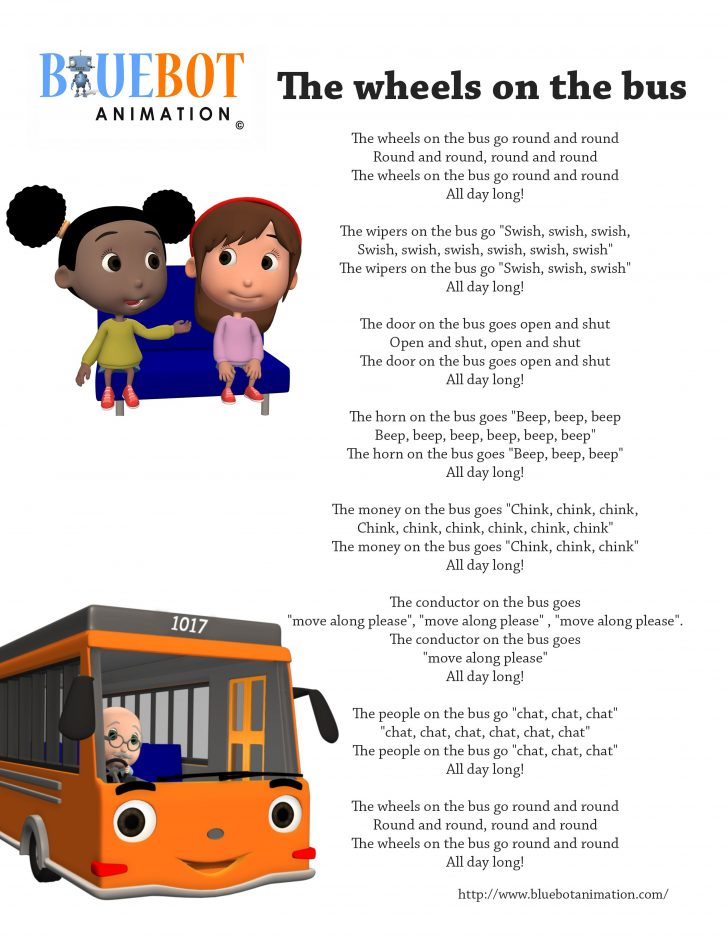 Free Printable Nursery Rhymes