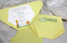 Free Printable Diaper Baby Shower Invitations