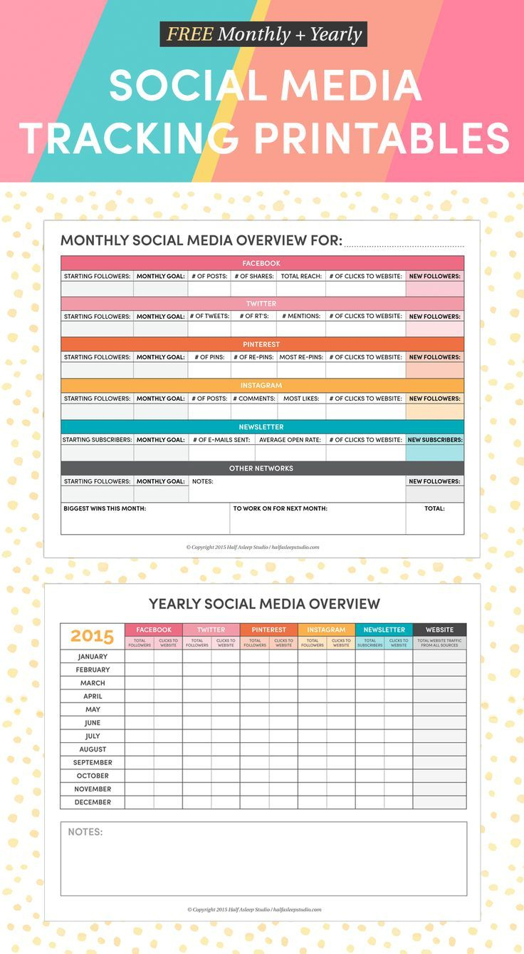 Where To Find Social Media Content For Free | Social Media - Free Printable Facebook Template