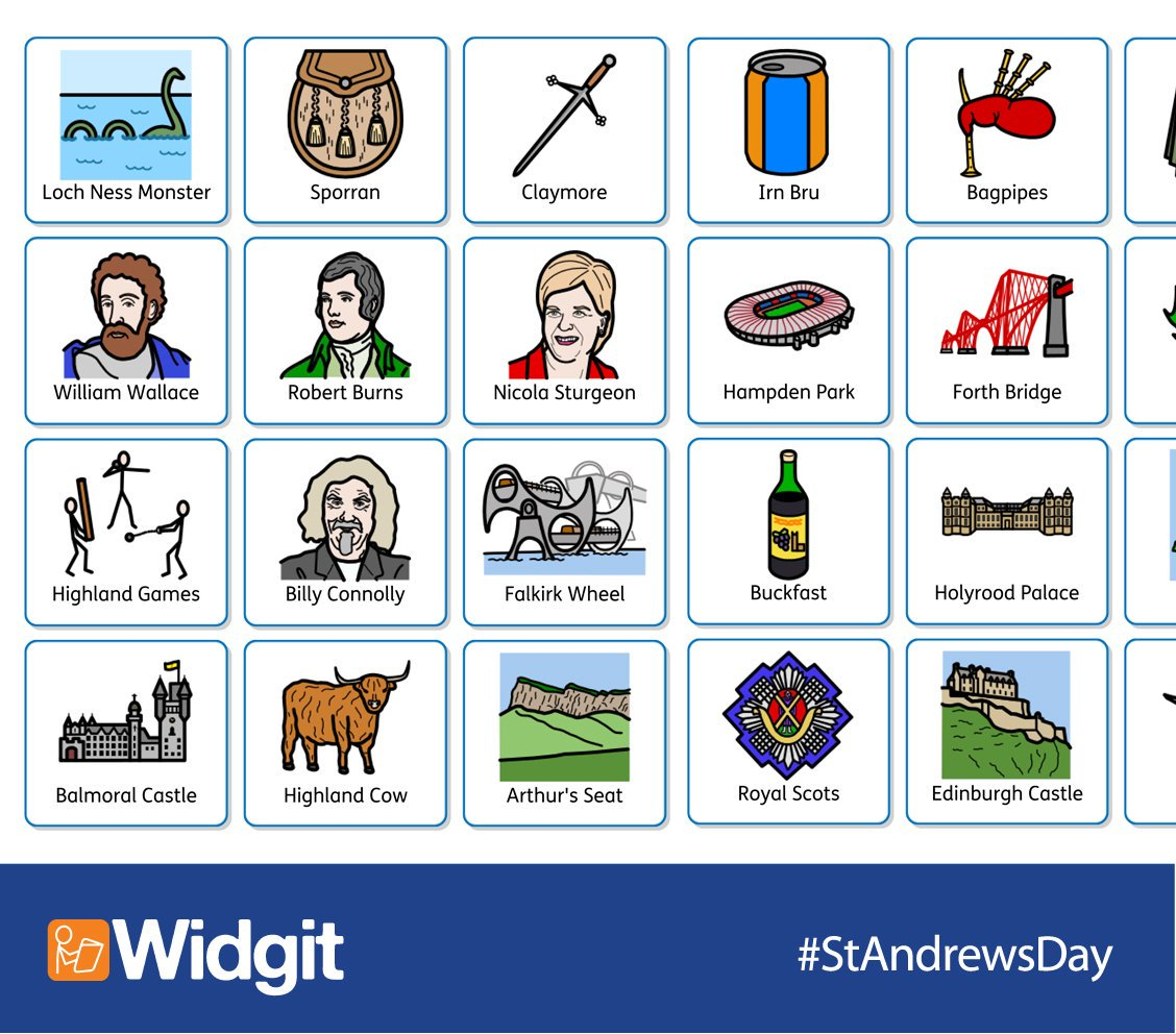 "Widgit Software On Twitter: ""free Scottish Vocabulary Symbols For St - Free Printable Widgit Symbols"