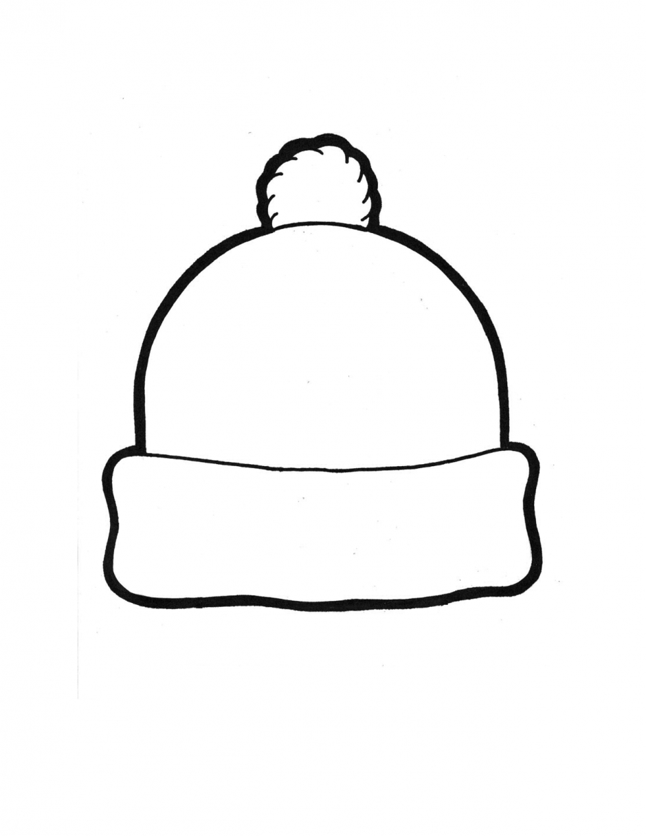Winter Hat Template 135867 Winter Hat Coloring Page | January - Free Printable Snowman Patterns