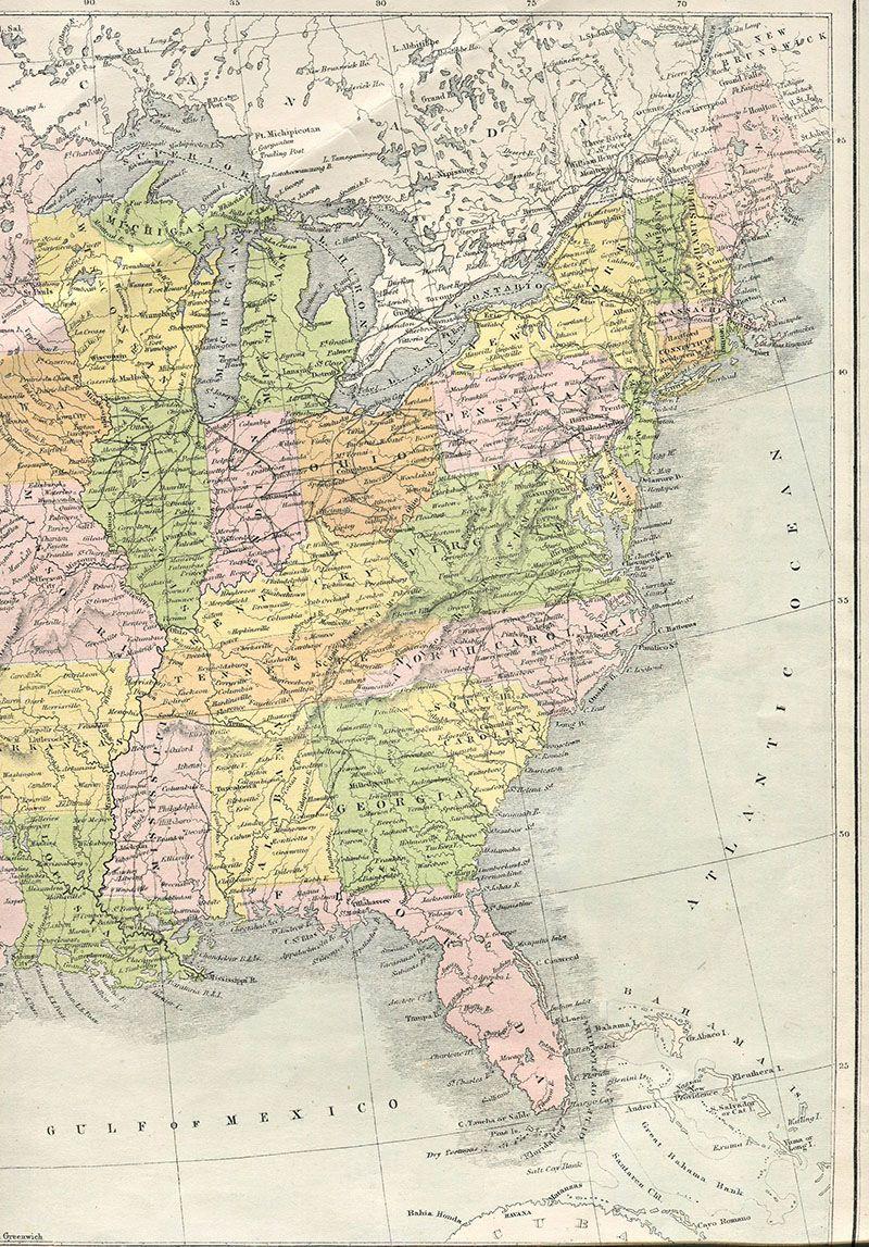Wonderful Free Printable Vintage Maps To Download | Diy Décoration - Free Printable Maps