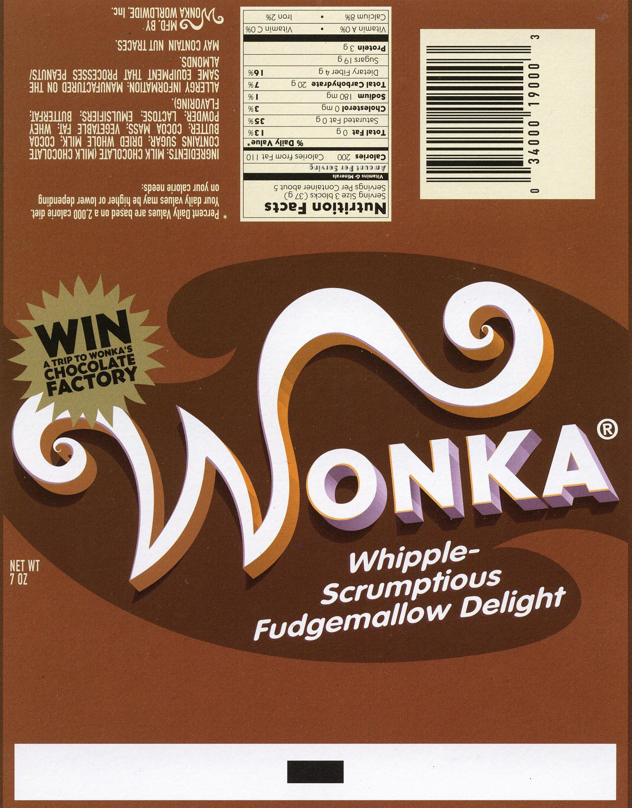 Wonka Bar | Love | Wonka Chocolate, Chocolate Bar Wrappers, Willy Wonka - Wonka Bar Wrapper Printable Free