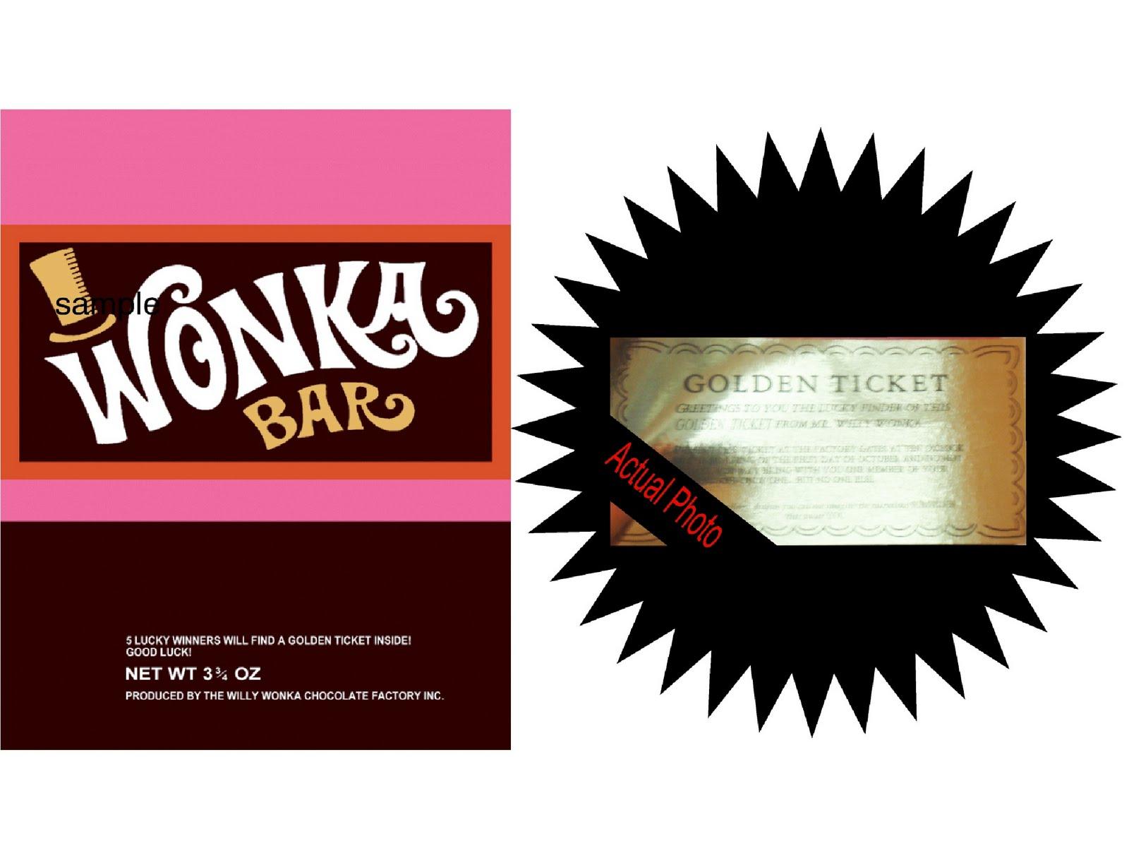 Wonka Bar Template - Home Design Ideas - Home Design Ideas - Wonka Bar Wrapper Printable Free