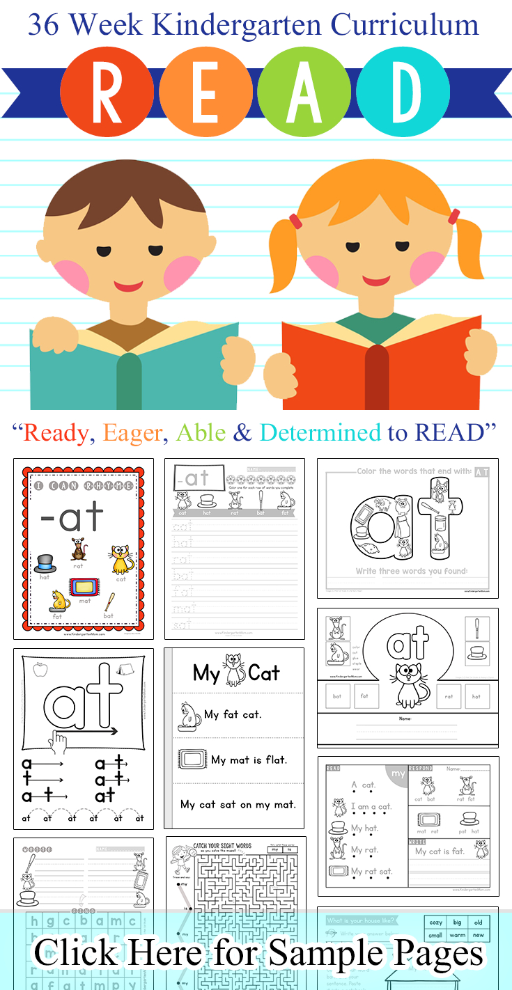Word Family Printables - Kindergarten Mom - Free Printable Word Family Worksheets For Kindergarten