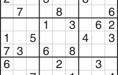 Worksheet : Easy Sudoku Puzzles Printable Flvipymy Screenshoot On - Free Printable Sudoku Books
