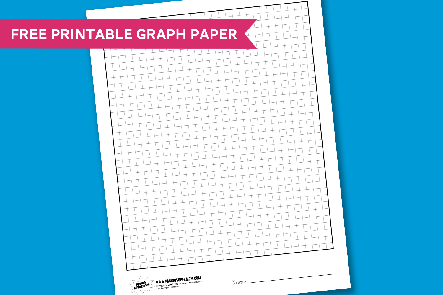 Worksheet Wednesday: Graph Paper | Glam | Pinterest | Graph Paper - Free Printable Graph Paper For Elementary Students