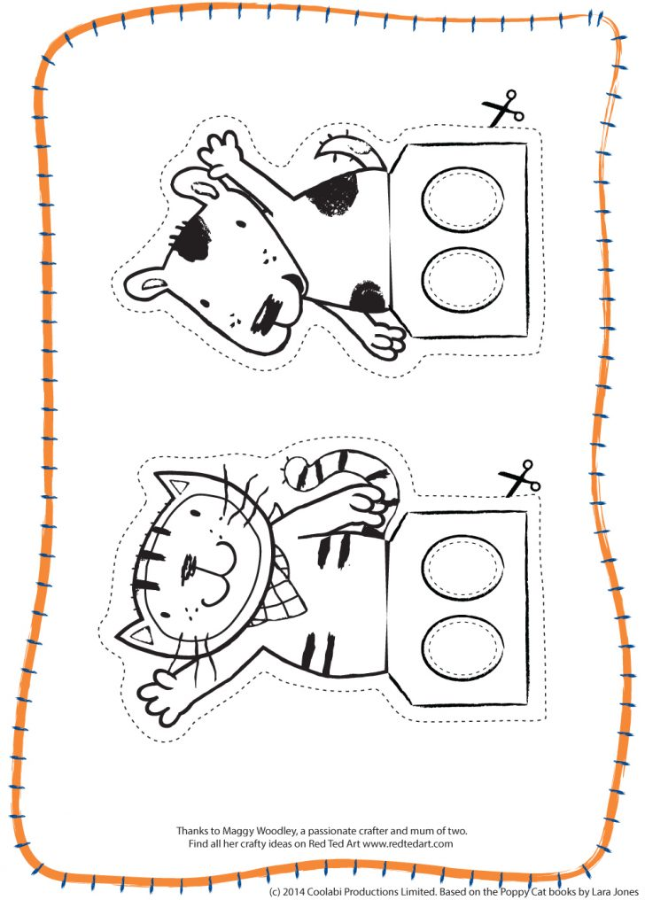 Free Printable Finger Puppet Templates