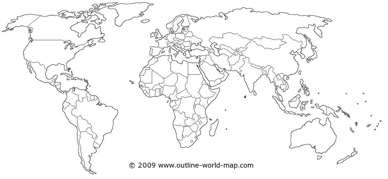 World Map | Dream House! | Pinterest | Blank World Map, Map And - Free Printable Blank World Map Download