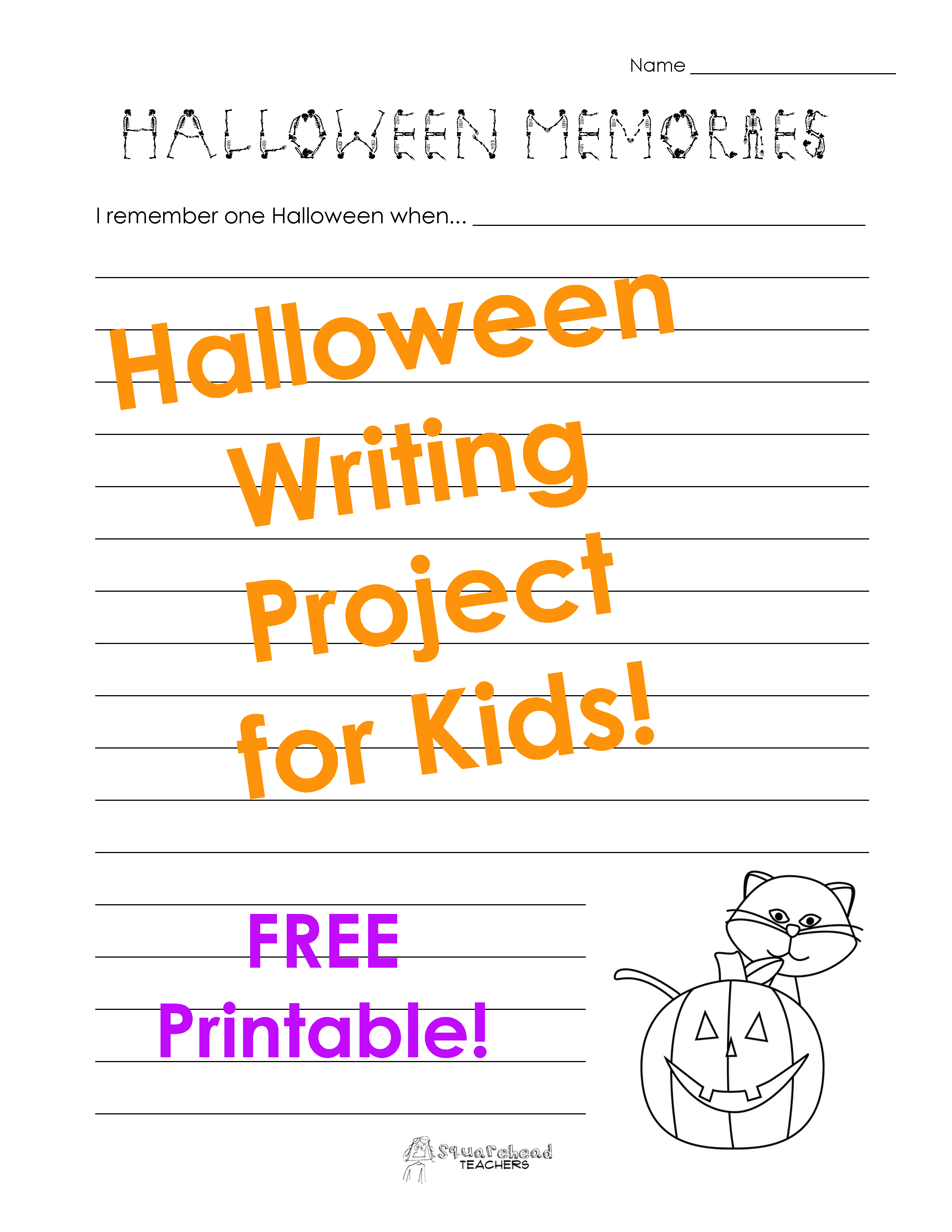 Writing Prompts | Squarehead Teachers - Free Printable Writing Prompts For Middle School