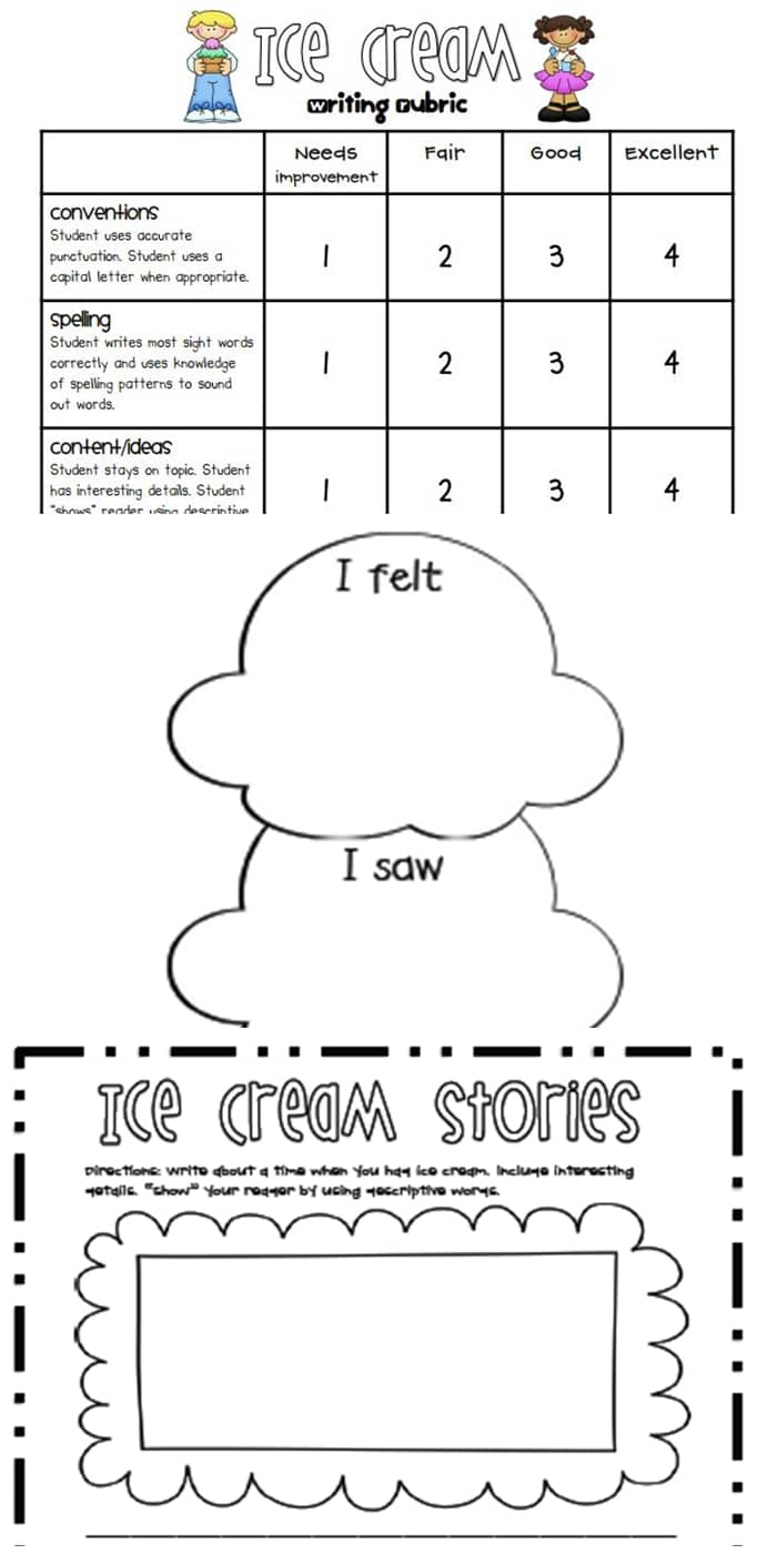 Writing Rubrics For Primary Grades - Teach Junkie - Free Printable Art Rubrics