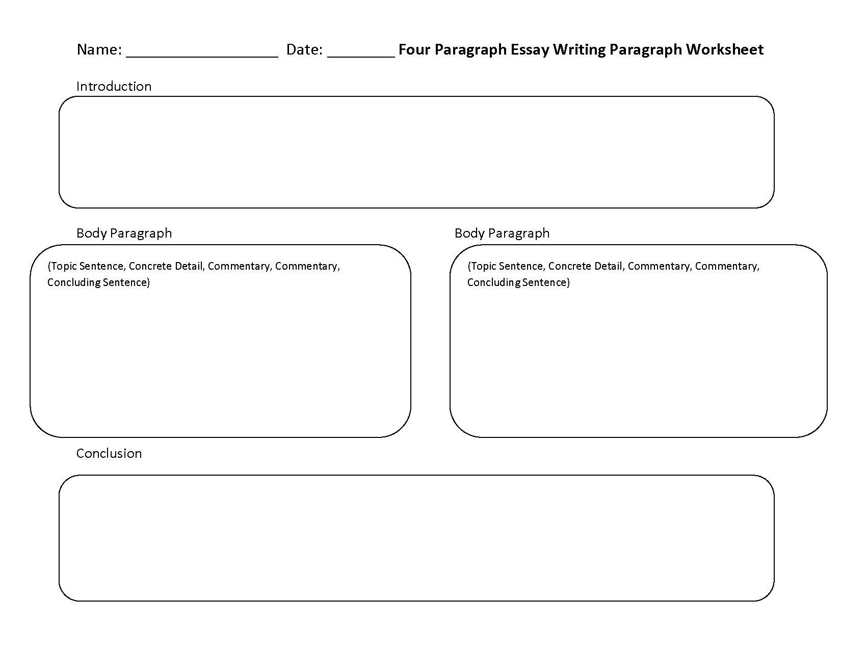 Writing Worksheets   Paragraph Writing Worksheets - 6Th Grade Writing Worksheets Printable Free