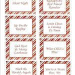 You Can Use These Printable Cards To Play Several Christmas Games   Free Printable Pictionary Cards