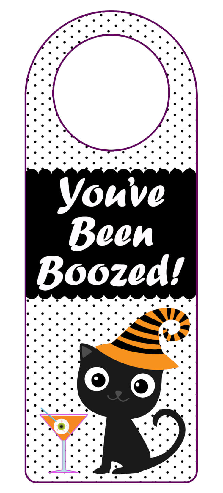 "You've Been Boozed"" Printables - Happiness Is Homemade - You Ve Been Boozed Free Printable"