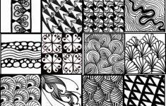Free Printable Zentangle Templates
