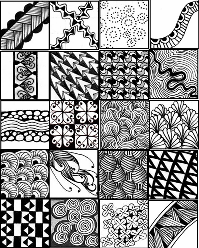 Zentangle Patterns Printable Animals – Ezzy - Free Printable Zentangle Templates